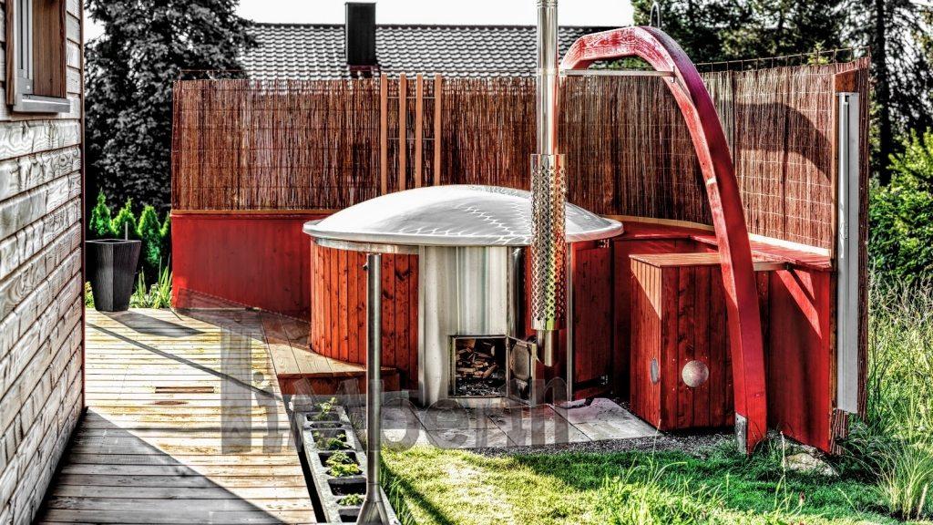 Hot tub mit Holzofen Deutschland