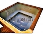 Badetonne eckig Micro Pool für 16 Personen! Party tub!